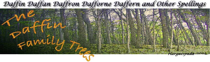 The DAFFIN FAMILY TREES